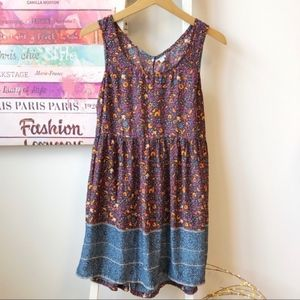 Urban Outfitters Ecote Floral Sleeveless Dress